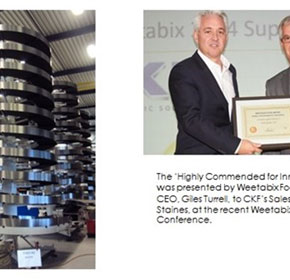 AmbaFlex's integrator wins award with buffering solutions for Weetabix