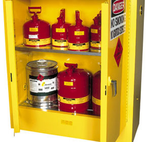 Dangerous Goods Storage Cabinets - By Justrite