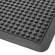 Anti Fatigue Rubber Dome Style Mat - 90 x 120cm