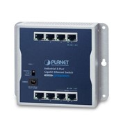 Industrial 8-Port 10/100/1000T Wall Mount Gigabit Ethernet Switch