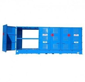 Dangerous Goods Storage | Outdoor Relocatable | 24,000L Bulkibox