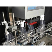 Volumetric Liquid and Cream Filling Machine | AV3 Series Twin Cylinder