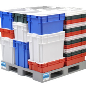 Up to 60% off Nally Crates, Lids, Containers and Trolleys
