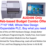 "Web-based Budget Combo Offer - 7""/10"" HMI + Expandable PLC"