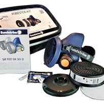 Half Mask & Filters Box | Sundström Asbestos Kit