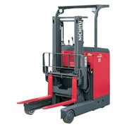 Stand-on Reach Truck, Narrow Aisle FBR 9