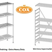 Super Heavy Duty Mantova Project Shelving - Supplied by R.J. Cox Engineering