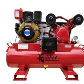 BOSS 25CFM/ 6HP Diesel Air Compressor 112L Tank BC25D-112L