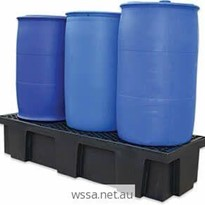 Drum Bunds | 3-Drum Polyethylene