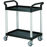 Double Deck Service Cart Trolley, 250 KG capacity- HS808E
