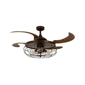 Industrial Ceiling Fan In Orb
