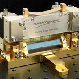Microlensing Laser Diode Array Packages