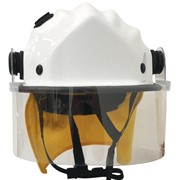 BR9 Standard Helmet with Clip On Face Shield and Mesh Cradle