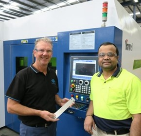 Fiber Laser Improves Quality & Reduces Lead Times