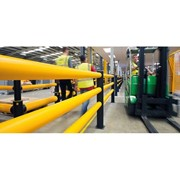 Safety Barriers I iFlex Pedestrian Barrier 3 Rail