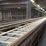 Eurosort Split Tray Sorter Belt Conveyors