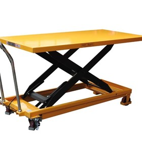 Extra large scissor table lifter/Trolley  max table height 915mm