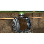 Mechanical Wastewater Treatment | Carat Septic Tank With Baffle
