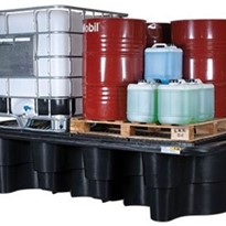 Double IBC Containment Bund | Polyethylene | Made In Australia