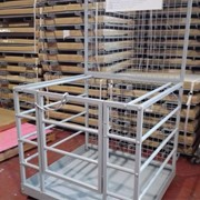 Zinc Forklift Safety Cage