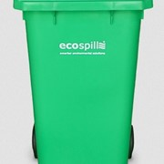 Wheelie Bin |120L Lime Green with White Lid