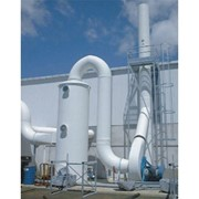 Acidic Air & Fume Scrubber I Packed Tower Scrubbers 730 Series