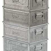 Industrial Perforated Containers | (Italy) highest quality
