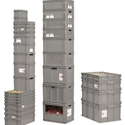 Industrial Stacking & Storage Containers / Boxes | (Italy)