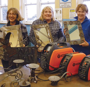 Kemppi gives Lithgow High School and women welders a boost