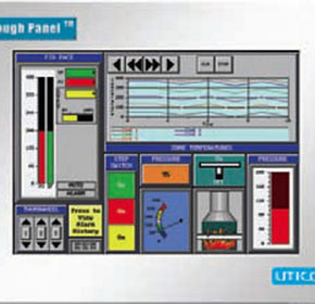 "HMI Touch Panels Operator Interface Panels - 8"" HMI Tough Panel"