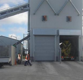 High speed doors for mining