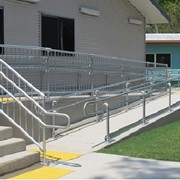 Easy does it with Moddex modular handrails and balustrades