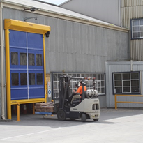 High Speed Industrial Roller Doors | Movidor