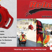 Self-Retracting Lifeline Range | Rebel™