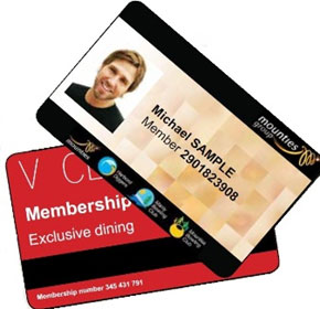 Instant membership cards in your control