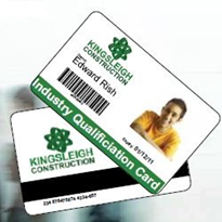 Lasting proof of training: Professional accreditation cards