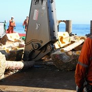 Demolition shears cut time, money for flow line decommissioning job