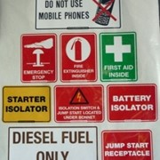 Safety Equipment | Vehicle Safety Stickers