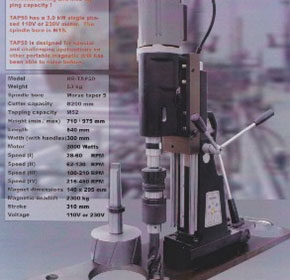 Magnetc Drilling Machine | TAP 50