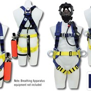 Breath Apparatus Fall Protection | Full Body Safety Harness Range
