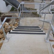 Safe grip anti-slip stair nosing features at Cotter River projects