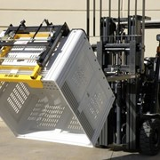 Forward Bin Tipper Forklift Attachments | A.I.M