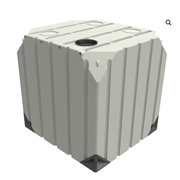 Food Grade Container Storage Tank