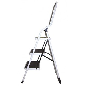 Steel Step Ladder | 3 Steps with Handrail 100 Kg