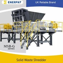 Commercial Aluminum Extrusion Two Shaft Shredder | MSB-G1200M