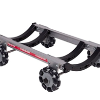 Curved R2 or R3 125mm Rotacaster Wheels | Rotacaster Rover Dolly Omni