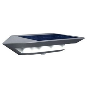 GHOSTLED LED Solar Security Floodlight with Motion Sensor | Crompton