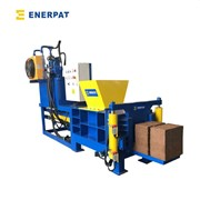 UK Enerpat High Efficiency Cocopeat Briquetting Baler Machine with CE