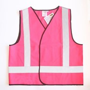 On Site Safety Pink Hi Vis Safety Vest