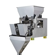 OPTIMA OP-P2H80 Dual Head Linear Weigher Weigh Hopper Capacity 8L Each
